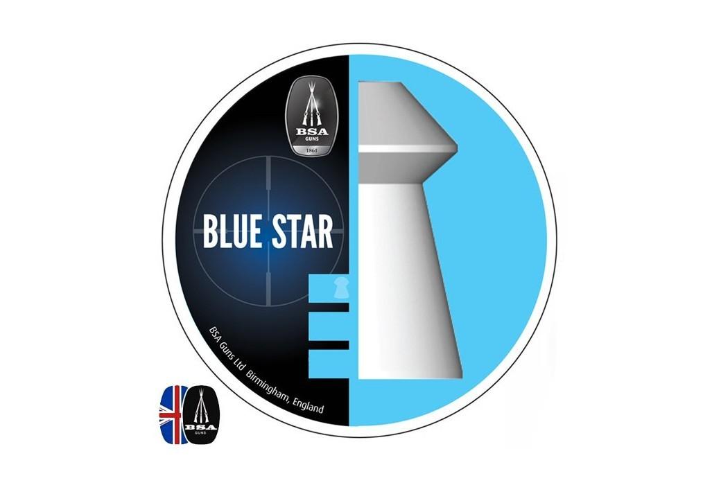 Air gun pellets BSA BLUE STAR 450 pcs 4.50mm (.177)