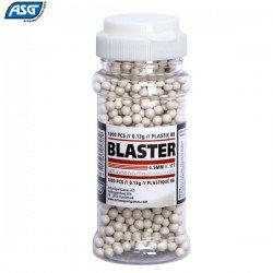 MUNITIONS ASG PLASTIQUE BB 1000PCS 4.50mm (.177)