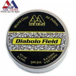 CHUMBO AIR ARMS DIABOLO FIELD 500pcs 4.51mm (.177)