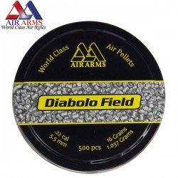 BALINES AIR ARMS DIABOLO FIELD 500pcs 5.51mm (.22)