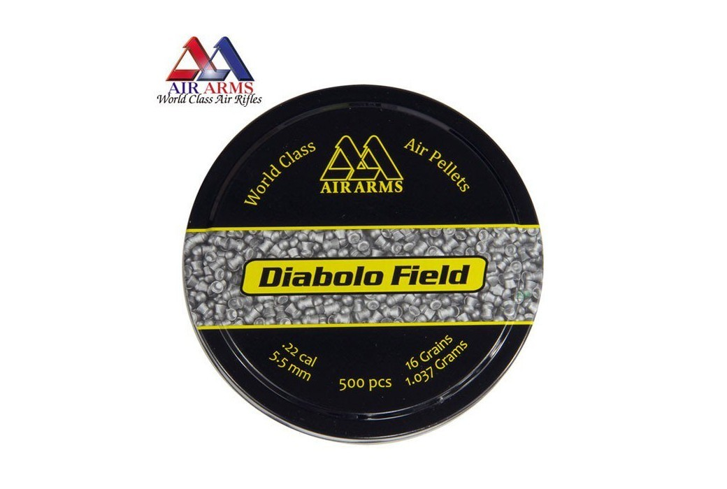 CHUMBO AIR ARMS DIABOLO FIELD 500pcs 5.51mm (.22)