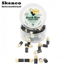 BALINES SKENCO BLACK MAX 50PCS 6.35mm (.25)
