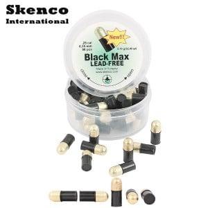 BALINES SKENCO BLACK MAX 50PCS 6.35mm (.25)