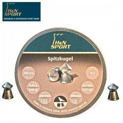 CHUMBO H & N SPITZKUGEL 4.50mm (.177) 500PCS