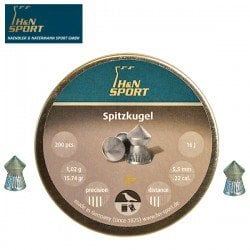 Air gun pellets H & N SPITZKUGEL 5.50mm (.22) 200PCS
