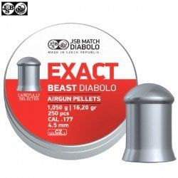 MUNITIONS JSB EXACT BEAST ORIGINAL 250pcs 4.52mm (.177)