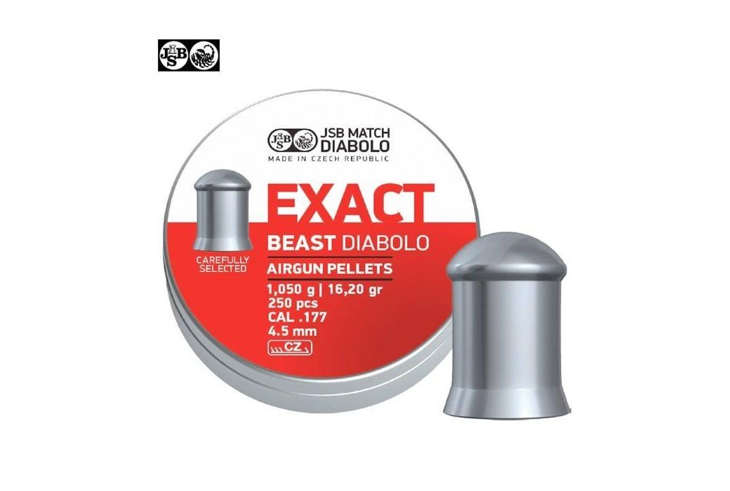 BALINES JSB EXACT BEAST ORIGINAL 250pcs 4.52mm (.177)