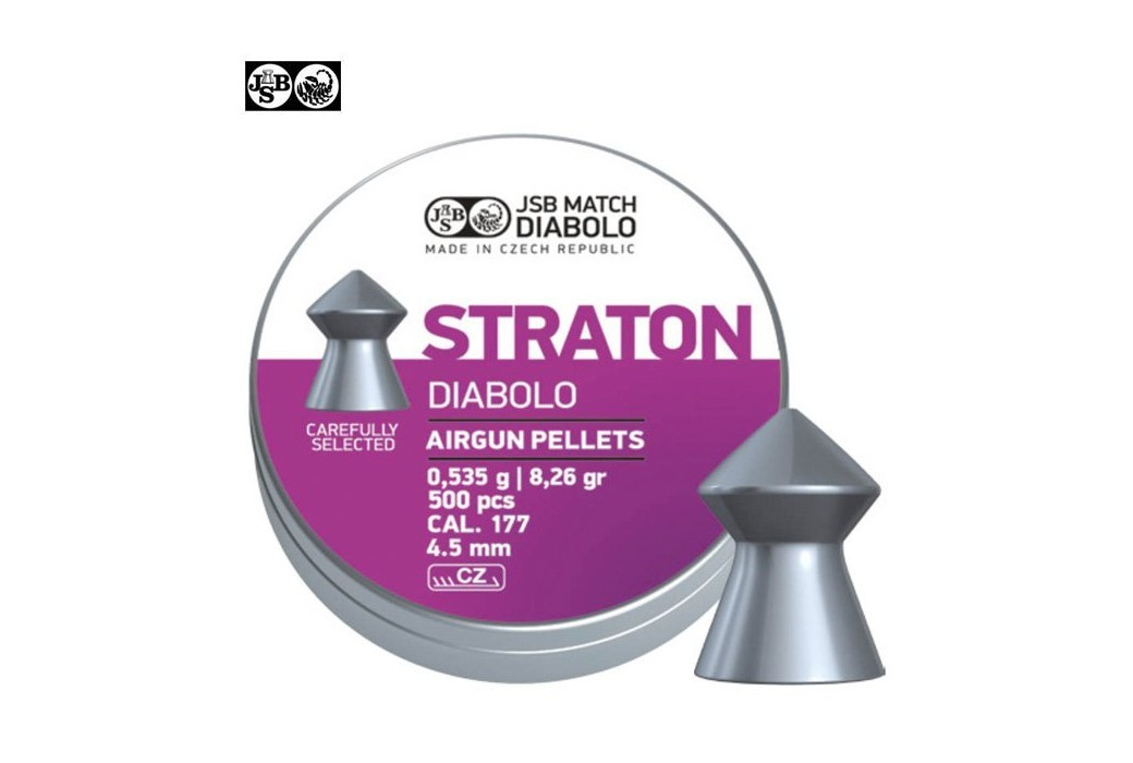 BALINES JSB STRATON ORIGINAL 500pcs 4.50mm (.177)