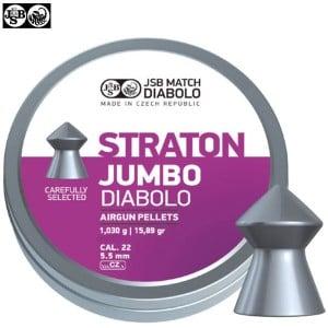 BALINES JSB STRATON JUMBO ORIGINAL 250pcs 5.50mm (.22)