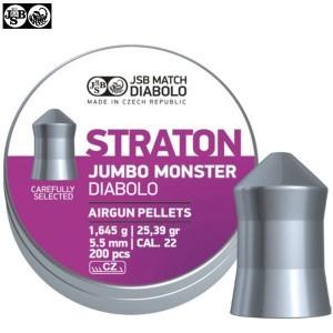 BALINES JSB STRATON MONSTER JUMBO ORIGINAL 200pcs 5.51mm (.22)