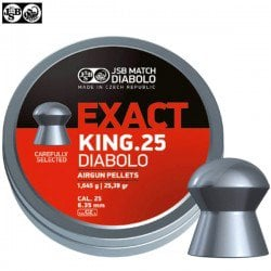 CHUMBO JSB EXACT KING ORIGINAL 150pcs 6.35mm (.25)