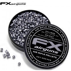 MUNITIONS FX AIRGUNS PELLETS 500pcs 5.52mm (.22)