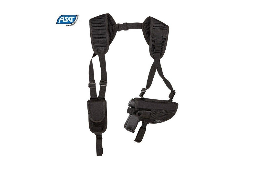ASG SHOULDER HOLSTER BLACK