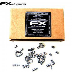 MUNITIONS FX SMOOTH TWIST PELLETS 18 gr 500pcs 5.50mm (.22)