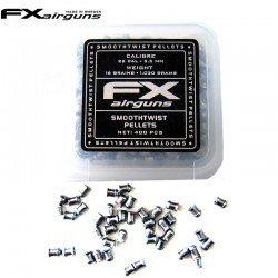 Air gun pellets FX SMOOTH TWIST PELLETS 16 gr 400pcs 5.50mm (.22)