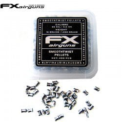 CHUMBO FX SMOOTH TWIST PELLETS 16 gr 400pcs 5.50mm (.22)