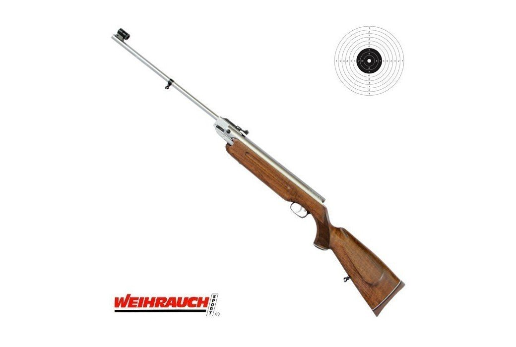 AIR RIFLE WEIHRAUCH HW35 E STAINLESS
