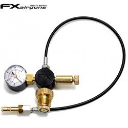 FX DIN SCUBA GAUGE AND HOSE KIT 200/300BAR 1/8 BSP