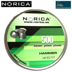 MUNITIONS NORICA HAMMER 4.50mm (.177) 500PCS