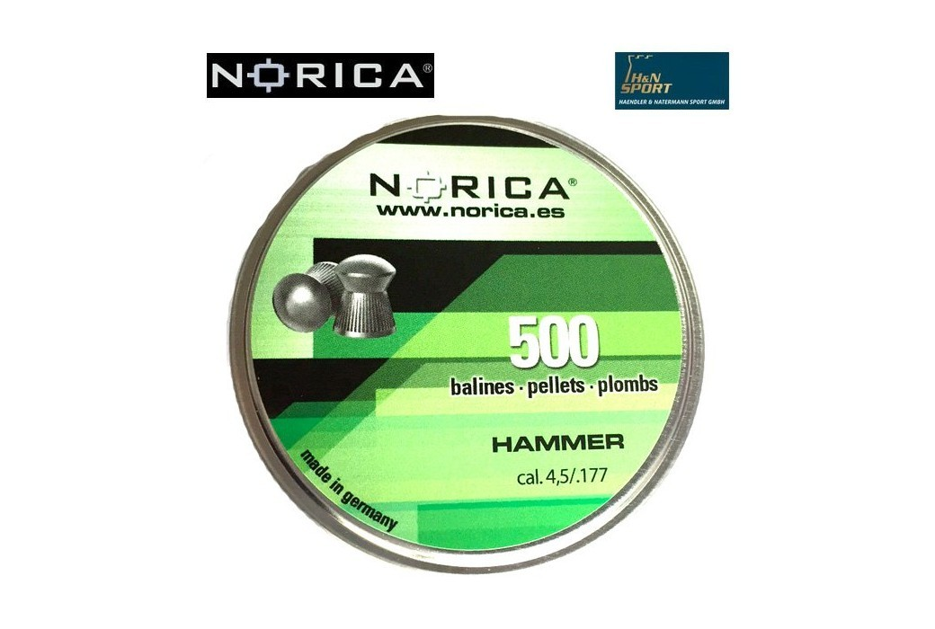 CHUMBO NORICA POINTED 4.50mm (.177) 500PCS
