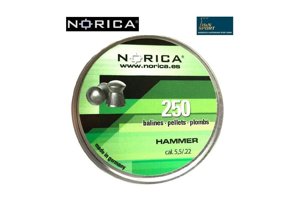 MUNITIONS NORICA HAMMER 5.50mm (.22) 250PCS