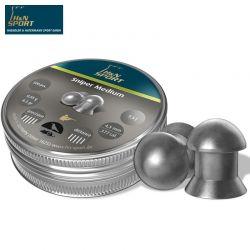 MUNITIONS H & N SNIPER MEDIUM 4.50mm (.177) 500PCS