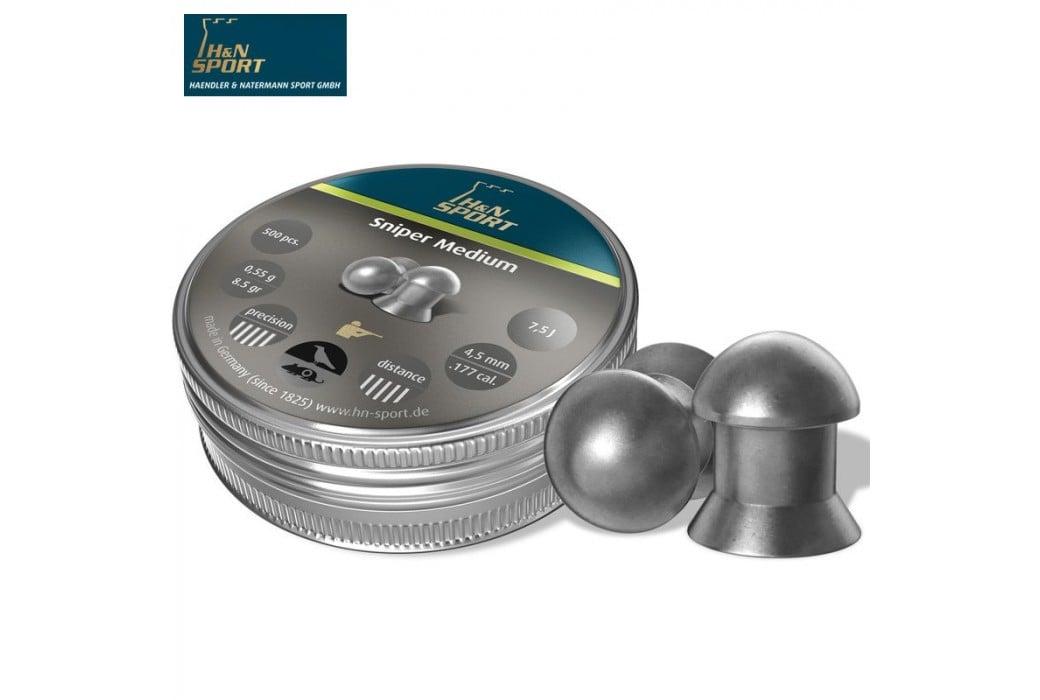 CHUMBO H & N SNIPER MEDIUM 4.50mm (.177) 500PCS