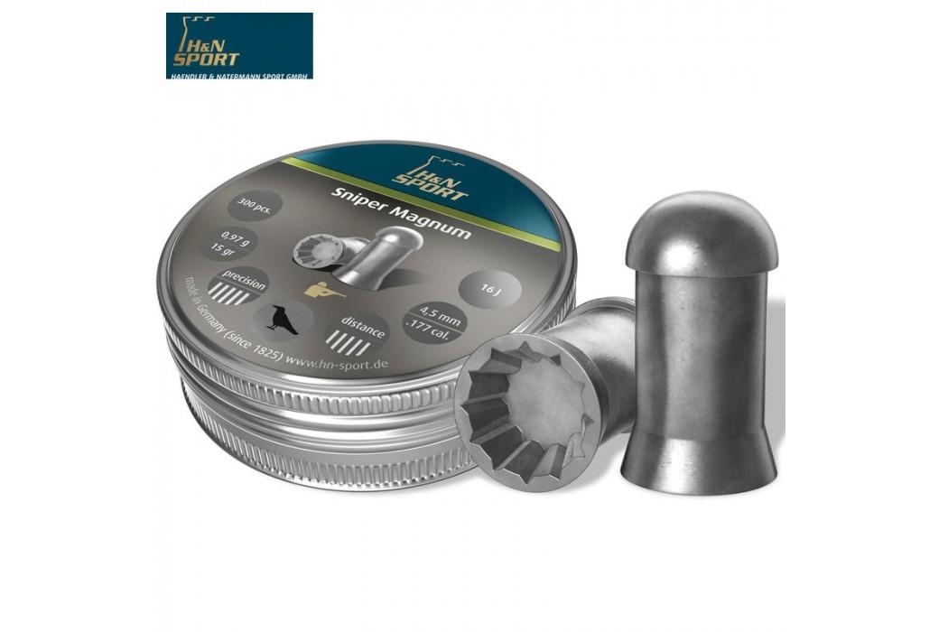 BALINES H & N SNIPER MAGNUM 4.50mm (.177) 300PCS