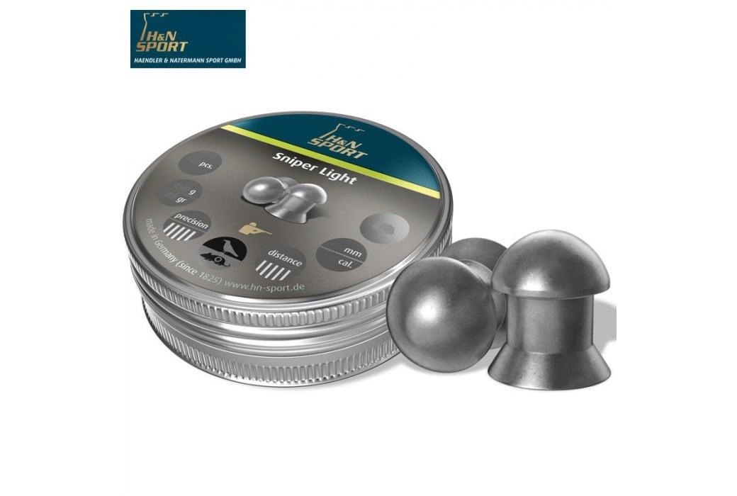 BALINES H & N SNIPER LIGHT 5.50mm (.22) 250PCS