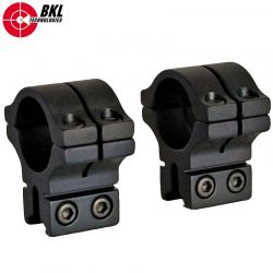 "BKL 263 TWO-PIECE MOUNT 1"" 9-11mm"