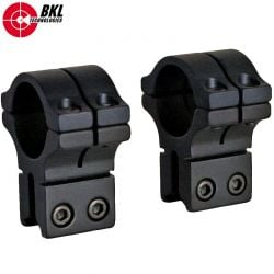 "BKL 263H MONTURAS 2PCS 1"" 9-11mm ALTA"