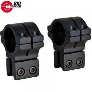 """BKL 263H TWO-PIECE MOUNT 1"""" 9-11mm HIGH"""