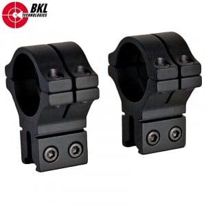 BKL 301 MONTURAS 2PCS 30mm 9-11mm