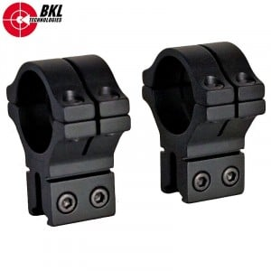BKL 301 TWO-PIECE MOUNT 30mm 9-11mm