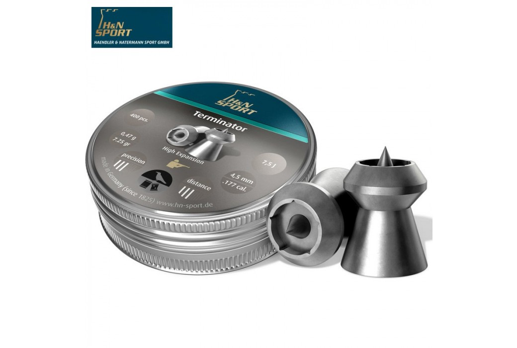 BALINES H & N TERMINATOR 4.50mm (.177) 400PCS