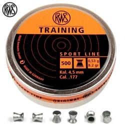 MUNITIONS RWS TRAINING 4.50mm (.177) 500PCS
