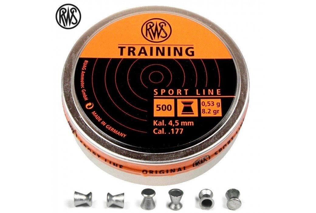BALINES RWS TRAINING 4.50mm (.177) 500PCS