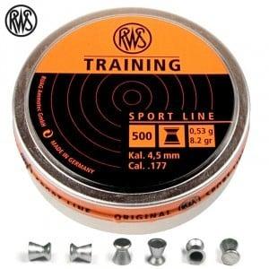 CHUMBO RWS TRAINING 4.50mm (.177) 500PCS