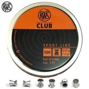 CHUMBO RWS CLUB 4.50mm (.177) 500PCS