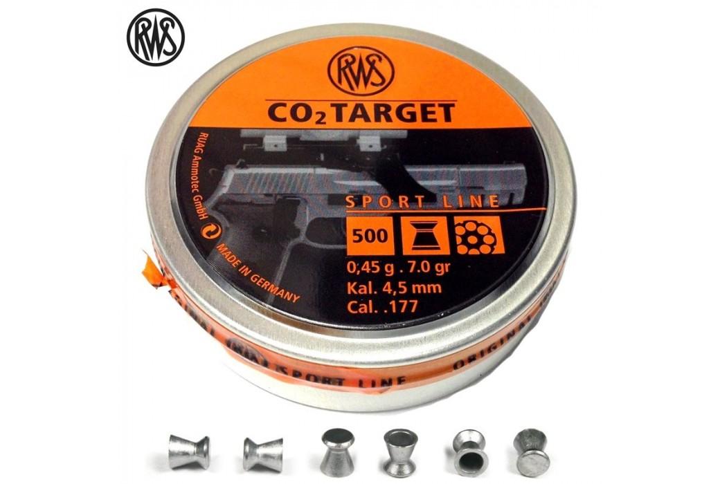 MUNITIONS RWS CO2 TARGET 4.50mm (.177) 500PCS
