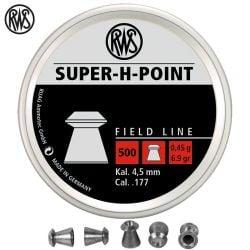MUNITIONS RWS SUPER H POINT 4.50mm (.177) 500PCS