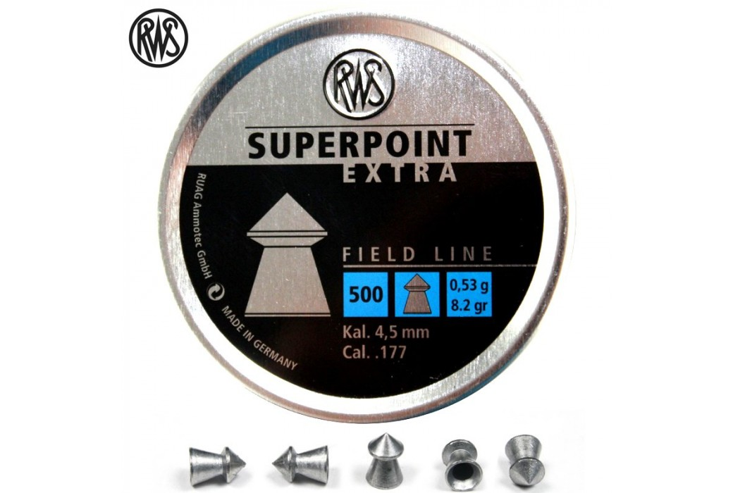 BALINES RWS SUPERPOINT 4.50mm (.177) 500PCS