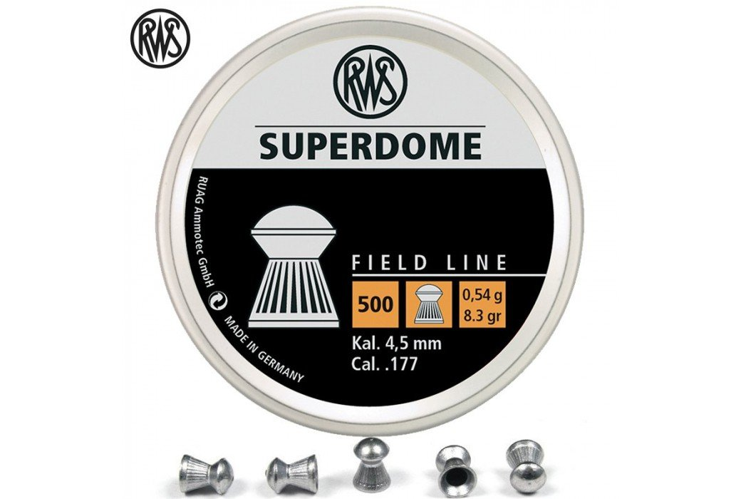 MUNITIONS RWS SUPERDOME 4.50mm (.177) 500PCS