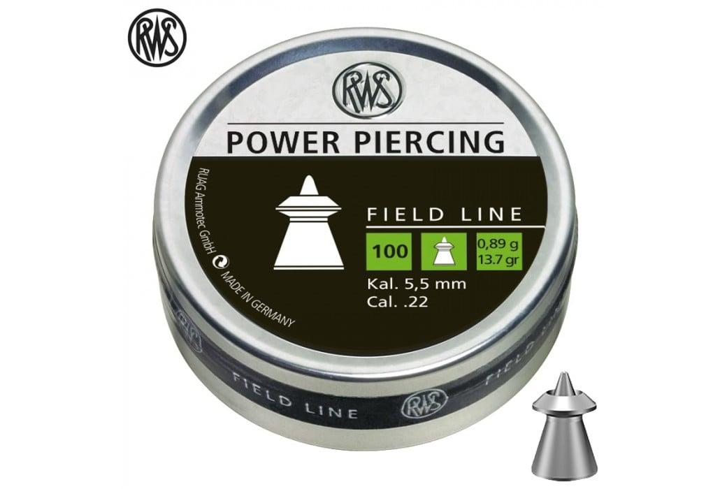 CHUMBO RWS POWER PIERCING 5.50mm (.22) 100pcs