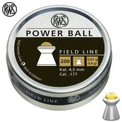 MUNITIONS RWS POWER BALL 4.50mm (.177) 200pcs