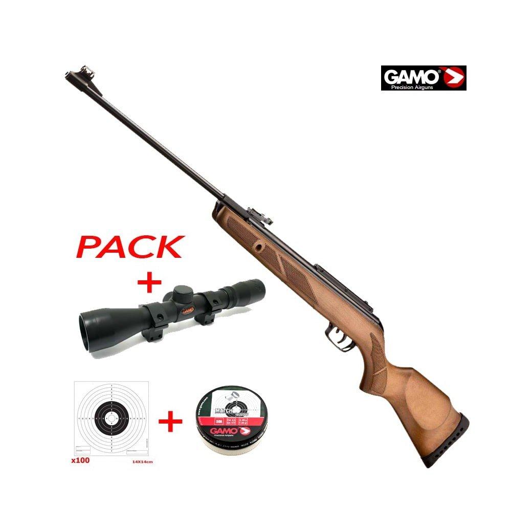 Air Arms S410 0.22 Air Rifle - RH Walnut 12ft lbs   Buy