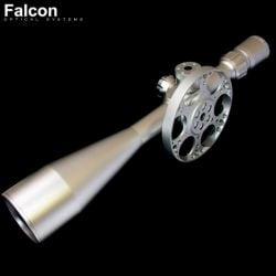 LUNETTE DE TIR FALCON T50LM SILVER 10-50X60 MIL-DOT