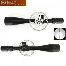SCOPE FALCON T50FT BLACK 10-50X60 MIL-DOT