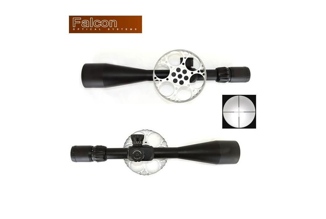 LUNETTE DE TIR FALCON T50FT BLACK 10-50X60 MIL-DOT