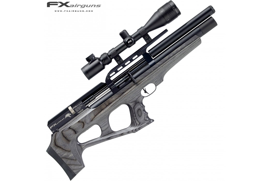 PCP AIR RIFLE FX WILDCAT REGULATED LAMINATE